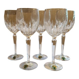 Waterford Crystal Wynnewood Wine Glasses - S/5