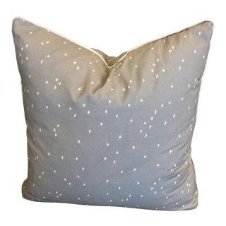 Accent Pillow in Tiny Birds Mist by CR Laine