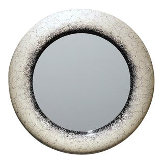 Eggshell Lacquer Mirror