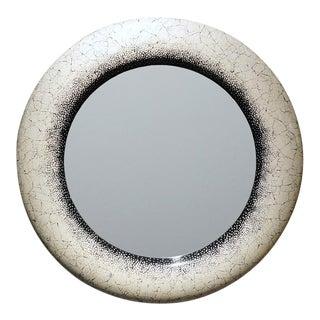 Eggshell Lacquer Mirror