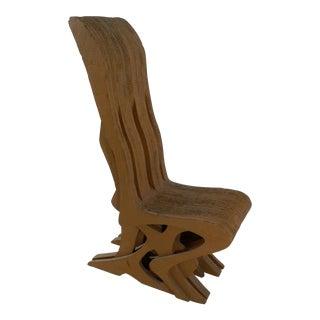 Vintage Cardboard Chair, 1970s