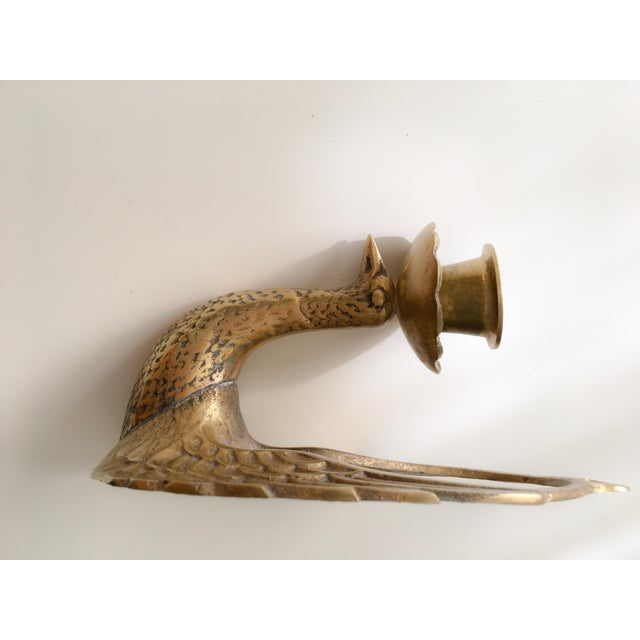 Wall Sconces With Birds : Brass Bird Wall Sconces - A Pair Chairish