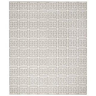 Safavieh Dhurries Handmade Geometric Rug - 9' x 12'