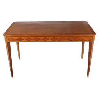 1950s English Coffee Table in Mahogany