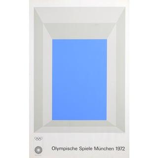 Josef Albers, Olympische Spielen Muenchen, Poster