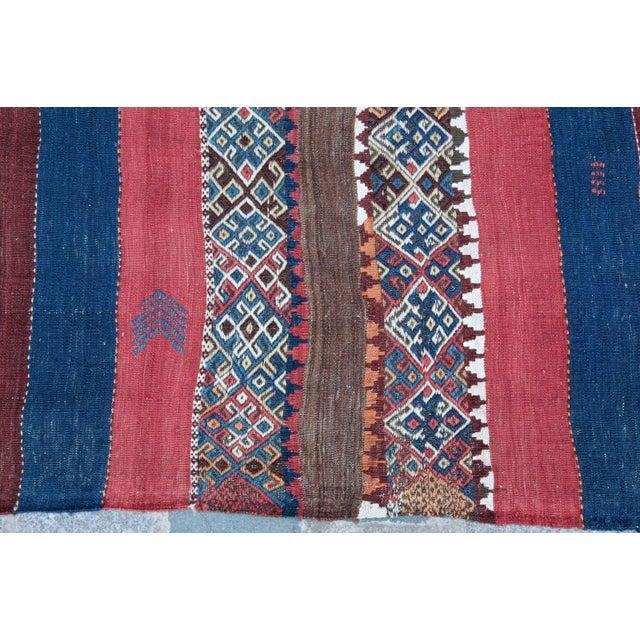 Fantastic Color Antique Turkish Malatya Kilim Rug - 6' 3'' x 3' 3'' - Image 7 of 10