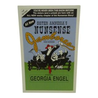 """Vintage """"Sister Amnesia's Nunsense"""" Theater Poster"""