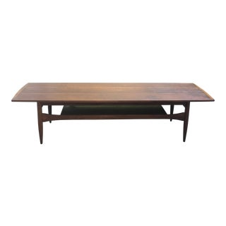 Mid-Century Danish Surfboard Coffee Table
