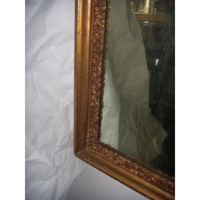 Antique Italian Gilt Cherub Mirror - Image 9 of 10