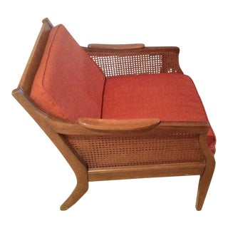 Mid-Century Danish Cane Chair
