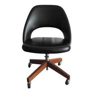 Mid-Century Modern Saarinen for Knoll Swivel Desk Chair