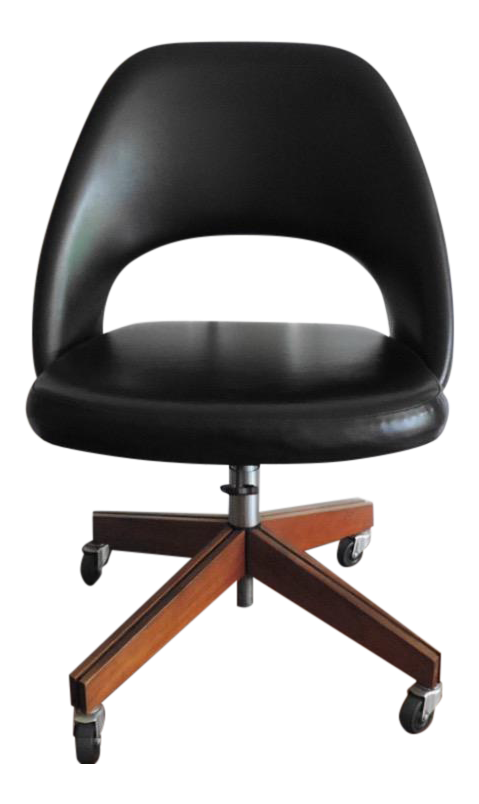 Mid Century Modern Saarinen For Knoll Swivel Desk Chair