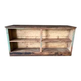 Vintage Store Counter Double Sided Storage