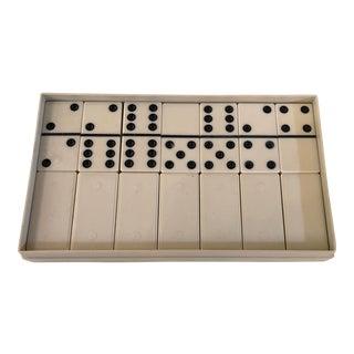 Bakelite Mid-Century Dominos - Set of 28