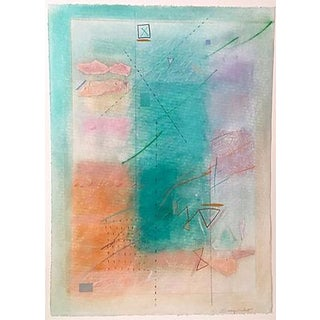 Modernist Abstract Pastel by Sherry Schrut