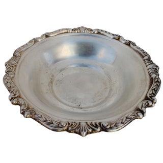 Sheridan Silver Plated Jewelry Dish
