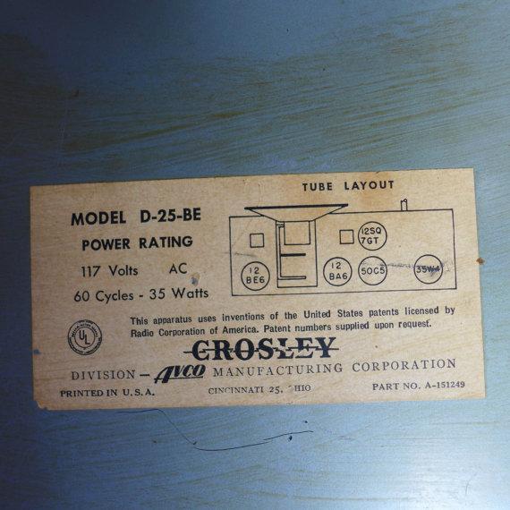 Vintage Bakelite Case Tube-Radio - Image 6 of 6