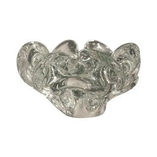 Vintage Murano Glass Flower Bowl
