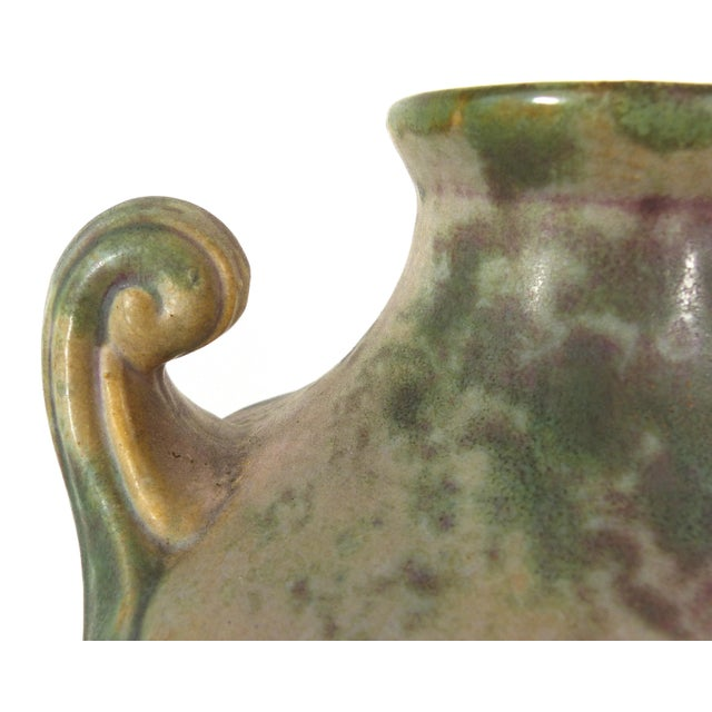 Vintage Burley-Winter Urn Style Vase With Handles - Image 3 of 8