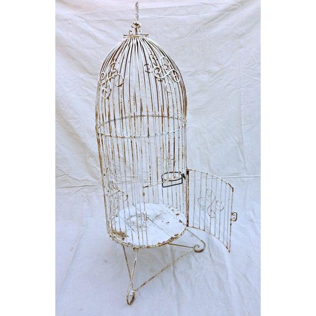 Vintage Garden Bird Cage - Image 3 of 4
