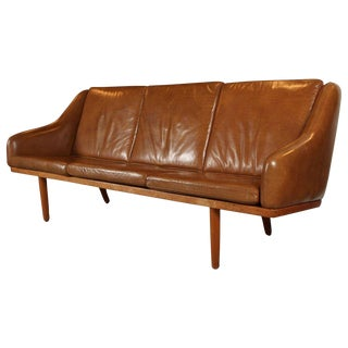 Poul Volther Leather Sofa