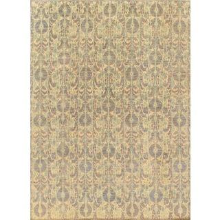 Pasargad's Ikat Wool Rug - 9′ × 12′