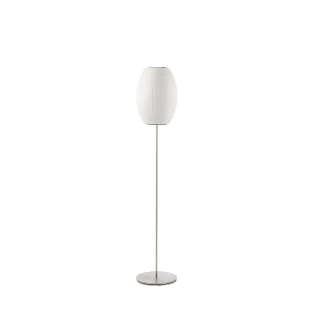Image of Nelson Bubble Lotus Floor Lamp - Retail $425