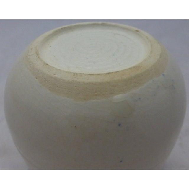 Mid-Century Blue and White Studio Pottery Beaker - Image 5 of 6