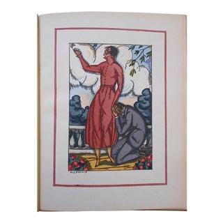 """Vintage Ltd. Ed. Pochoir Images By Guy Arnoux""""Les Femmes De Ce Temps"""" France 1920"""
