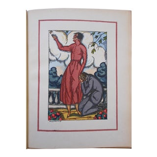 "Vintage Ltd. Ed. Pochoir Images By Guy Arnoux""Les Femmes De Ce Temps"" France 1920"