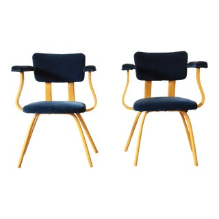 Attributed to Ettore Sottsass for Memphis Vintage Bentwood Armchairs - A Pair
