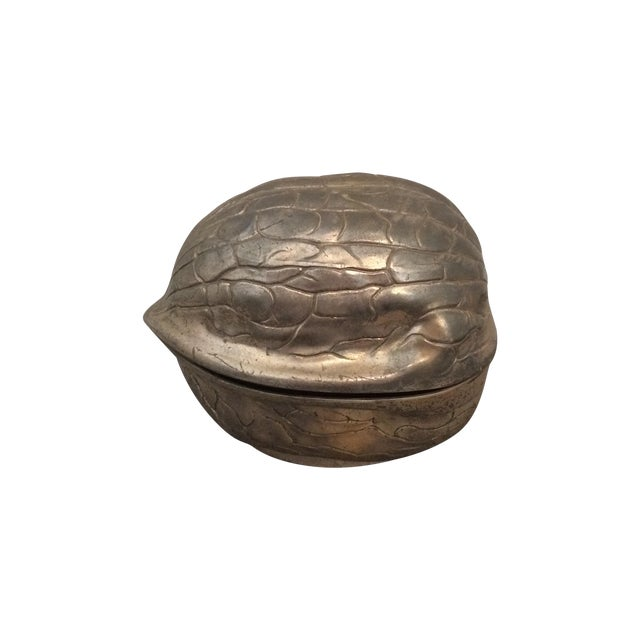 Silver Walnut Canister - Image 1 of 9