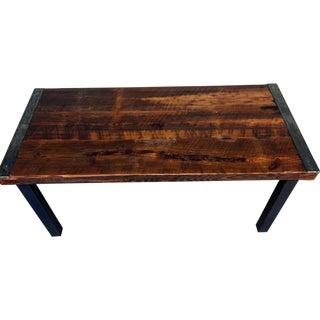 Modern Industrial Farmhouse Table