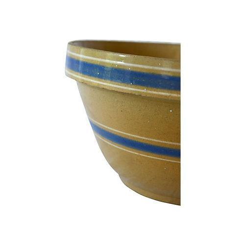 Image of Vintage Stoneware Farmhouse Bowl