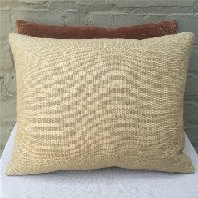 Fortuny Textile Pillows - A Pair - Image 5 of 5