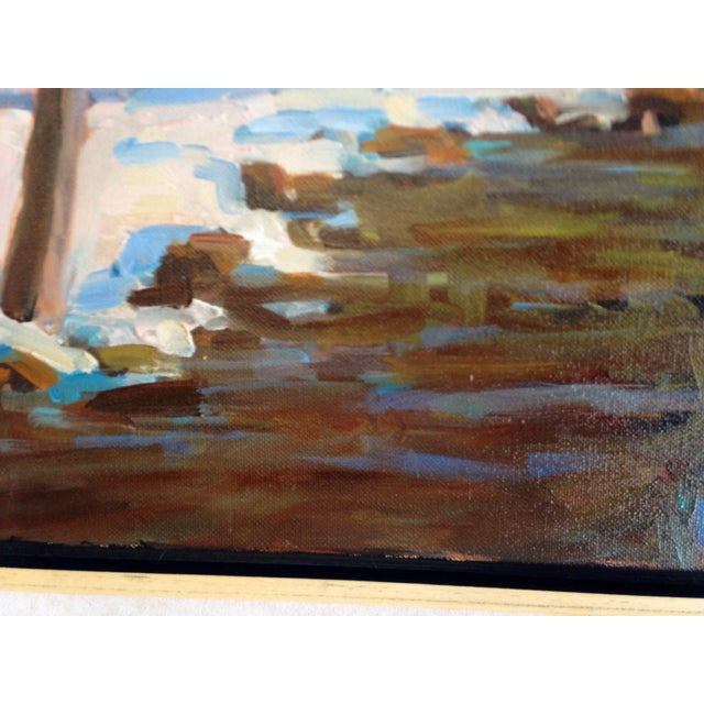 Ken Dorros Original Oil Painting - Maine - Image 5 of 7