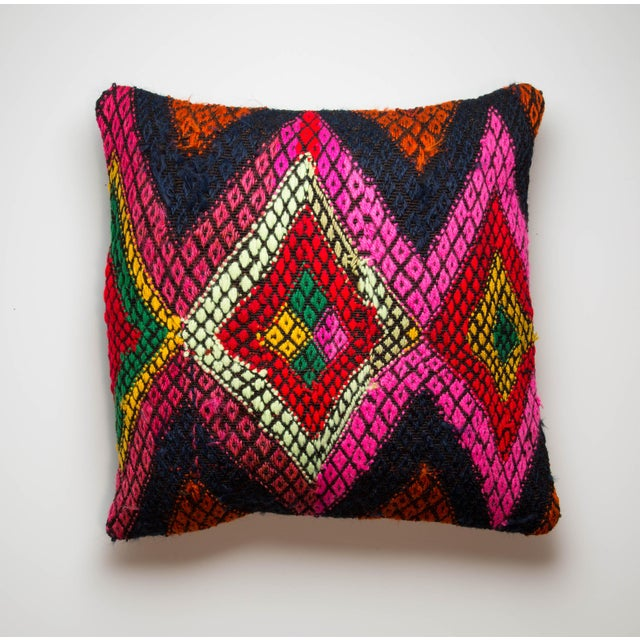 Multicolor Kilim Pillow Case - Image 2 of 3