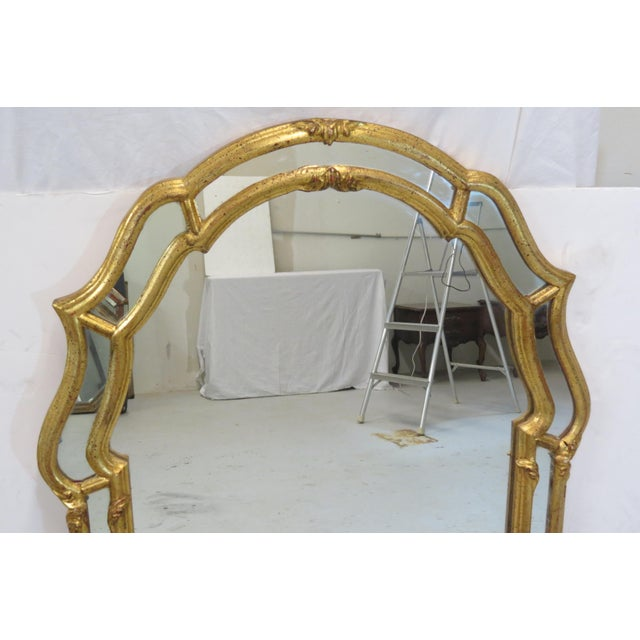 Italian Gilt Wood Wall Mirror - Image 3 of 5