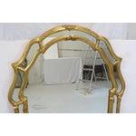 Image of Italian Gilt Wood Wall Mirror
