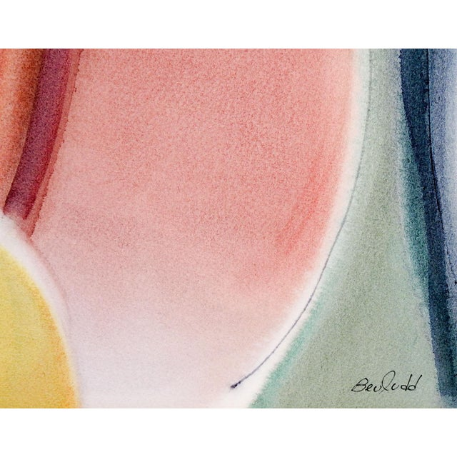 Image of Bee Judd Abstract Watercolor Painting