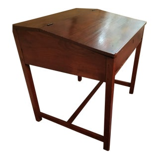 Antique Mide Century Modern Maple Art Desk