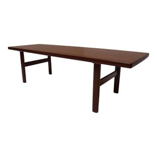 Mid-Century Modern Coffee Table in Teak