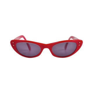 1960s Cutler & Gross Cat Eye Sunglasses