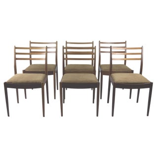 G Plan Mid-Century Teak Chairs - Set of 6