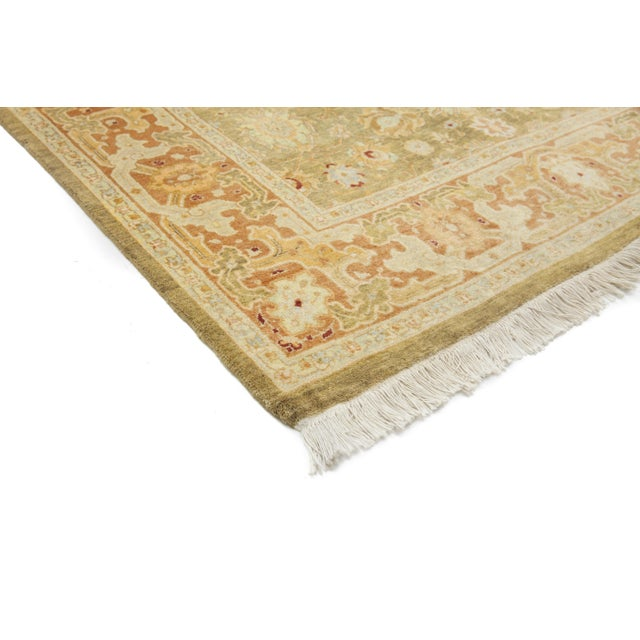 """New Traditional Hand Knotted Area Rug - 4'1"""" x 6'3"""" - Image 2 of 3"""