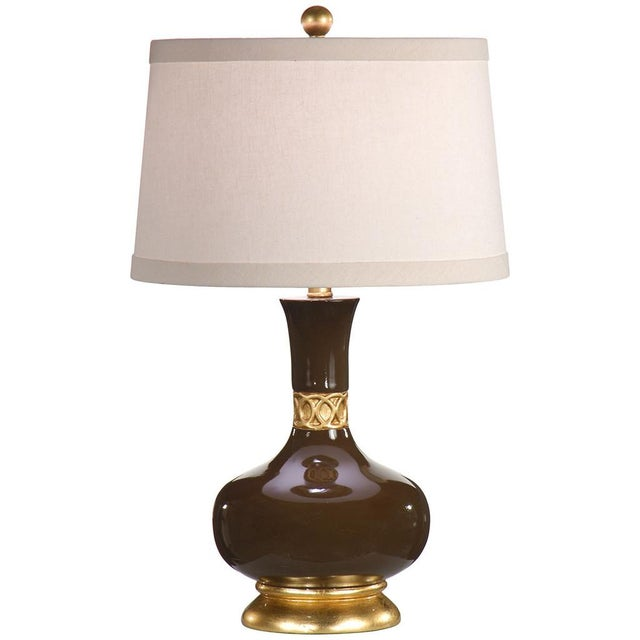 Image of Wildwood Lamps Mimi Table Lamp in Espresso Glaze