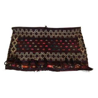 Turkomen Handwoven Saddlebag Grain Bag