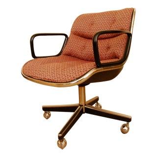 Mid-Century Charles Pollock for Knoll Desk Chair