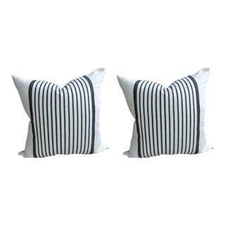 """Ralph Lauren """"Montmarte Stripe"""" Pillows - a Pair"""