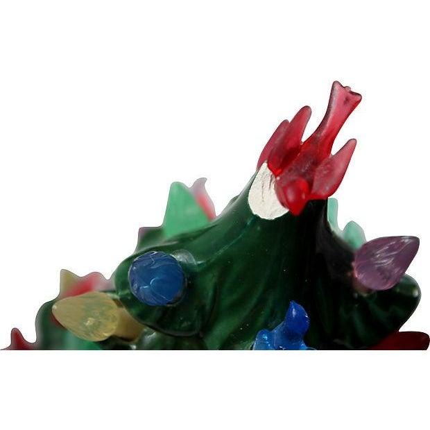 Vintage Light-Up Ceramic Christmas Tree - Image 4 of 4